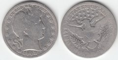 1908S BARBER HALF DOLLAR