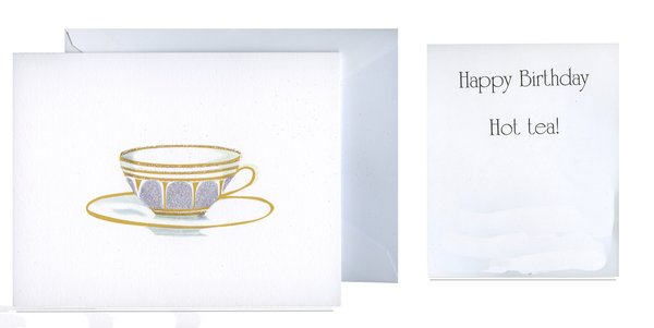 Hot tea folded birthday card gnc744 stevie streck designs folded birthday card gnc744 bookmarktalkfo Image collections