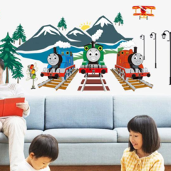 THOMAS AND FRIENDS LUMINOUSE WALL DECAL