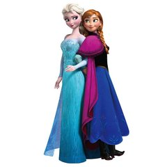 QUEEN ELSA AND ANNA TOGETHER