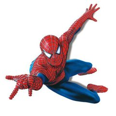 3D SPIDER MAN WALL DECAL