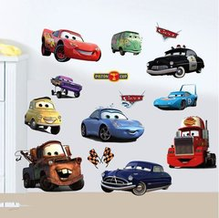 3D CARS WALL DECAL