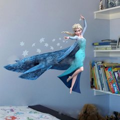 Queen Elsa wall Decal 3D