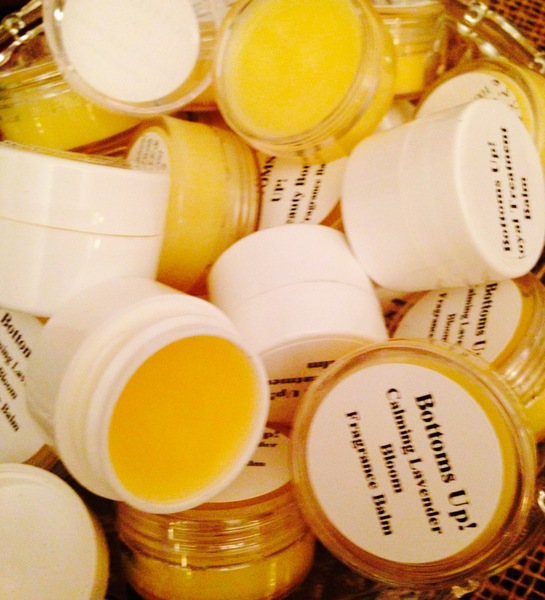 """""""Calming Lavender Bloom"""" Special Edition {African Lavender) Coconut Oil Infused Fragrance Balms"""" 1.25oz"""