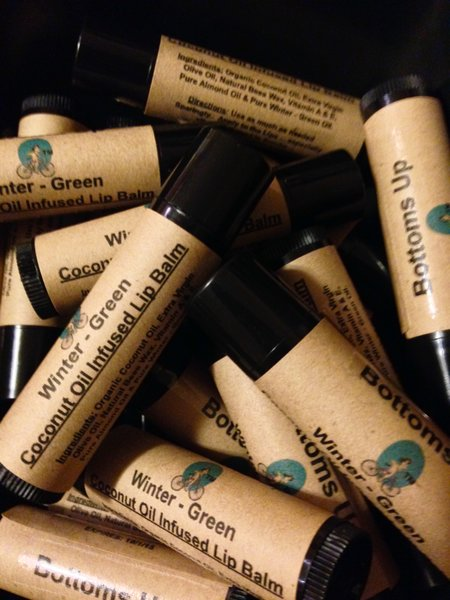 """""""Winter-Green """" Coconut Oil Infused Lip Balm (Large) .75 oz"""