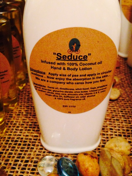 """""""Seduce"""" Coconut Oil Infused Hand & Body Lotion 6oz"""