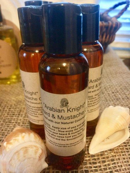 """""""ARABIAN KNIGHT"""" Tip-Top Mustache & Beard Oil in 2oz"""
