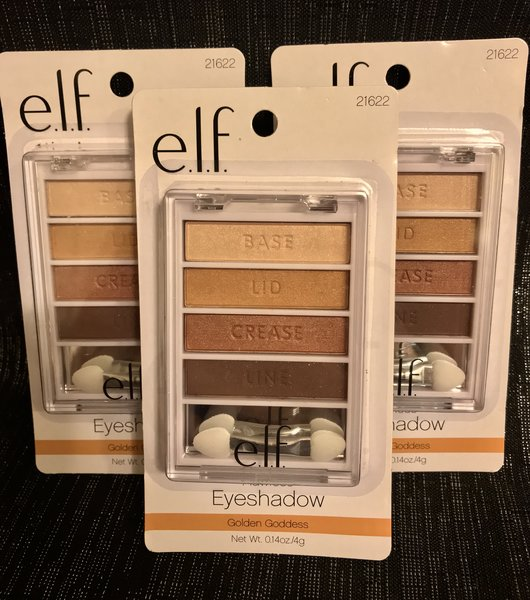Elf Golden Goddess Quad Eye Shadows