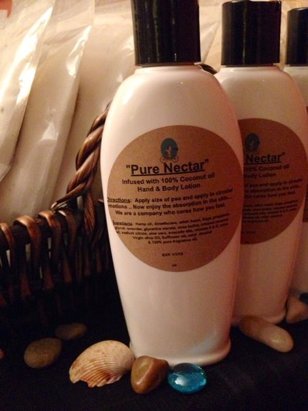"""""""Pure Nectar"""" Coconut Oil Infused Hand and Body Lotion 6 OZ"""