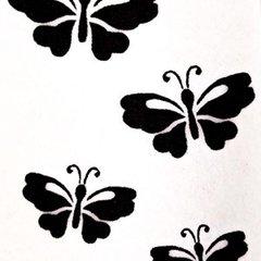Butterflies Stencil - A5
