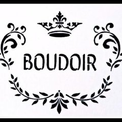Boudoir Stencil - A4