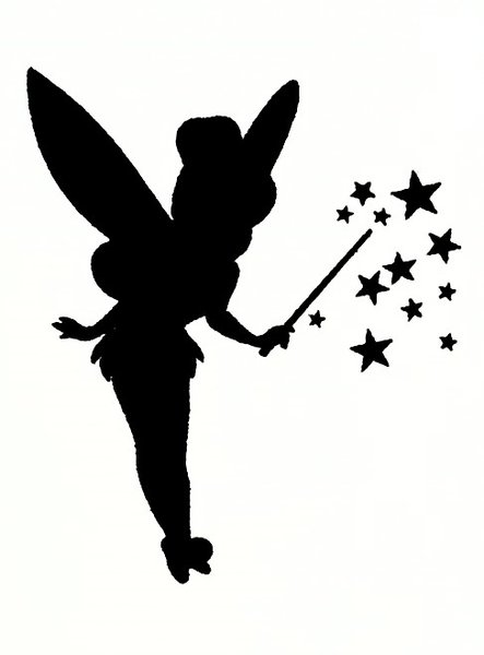 Everlong tinkerbell stencil a5 washable reusable plastic for Tinkerbell stencil