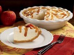 Crisp Apple Cheesecake