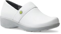 Dansko - Work Wonders Camellia Shoes - White Leather