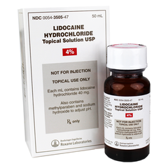 Lidocaine Hydrochloride Topical Liquid Solution 4%