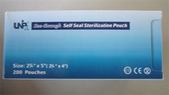 "See through Self Seal Sterilization Pouch 2(1/4)"" x 5"""