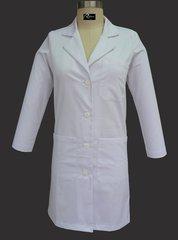 6118 - Ladies Knee Length Lab Coat