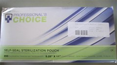 "Self Sealing Sterilization Pouch 5.25"" x 11"""