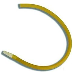 Extension Tubing Bard® 18 Inch, Latex, With Connector