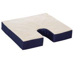 """Fleece Gel Coccyx Cushion 16"""" x 18"""" x 3"""""""