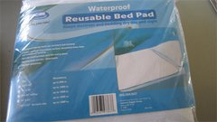 "Water proof Reusable Bed Pad 44"" x 52"""