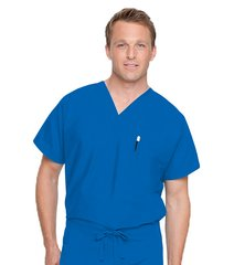 7502 - Unisex Scrub V-Neck Top