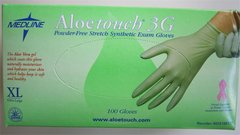 Aloetouch 3G Powder Free Stretch Synthetic Exam Gloves