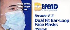 Fluid Resistant Ear loop Face Masks
