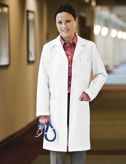 "15113 Meta Labwear Ladies 37"" Women's Lab Coat"