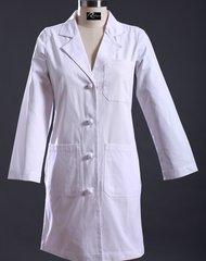 Lady's Knee Length Lab Coat