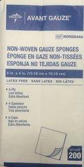 """Avant Gauze Non-Woven Non-Sterile Sponges - 4"""" x 4"""""""