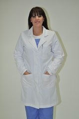 6107 - Lady's Long Lab Coat