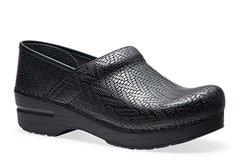 Dansko - Professional - Black Woven Leather