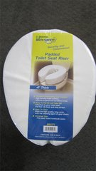 """Padded Toilet Seat Cushion 4"""" Thick"""