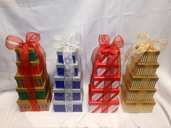 Holiday Gift Tower -5 Tier
