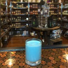 Frosty Pinecone 2.5oz Soy Candle in Glass