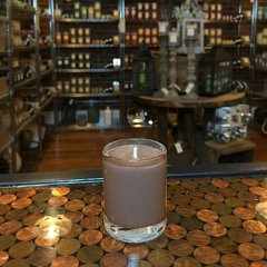 Teakwood & Cardamom 2.5oz Soy Candle in Glass