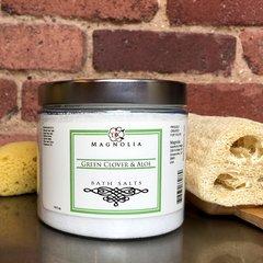 Green Clover & Aloe Bath Salts