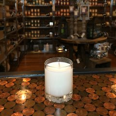 Cashmere & Silk 2.5oz Soy Candle in Glass