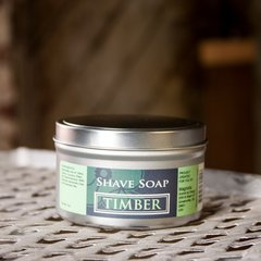 Timber 3oz Shave Soap