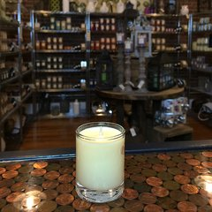 Lemon Verbena 2.5oz Soy Candle in Glass