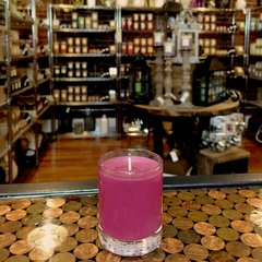 Spiced Cranberry 2.5oz Soy Candle in Glass