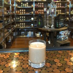 Vanilla Extract 2.5oz Soy Candle in Glass
