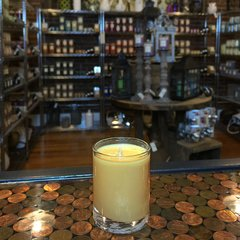 Frankincense & Myrrh 2.5oz Soy Candle in Glass