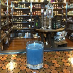 Tonka & Tobacco 2.5oz Soy Candle in Glass