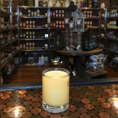 Peach Fuzz 2.5oz Soy Candle in Glass