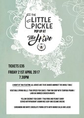 Pop Up Ticket at The Hive on Friday 21st April 2017