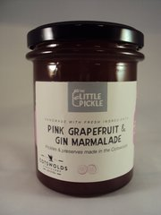 Pink Grapefruit and Gin Marmalade
