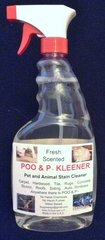 POO & P Kleener 24 Ounce Pet Stain Remover