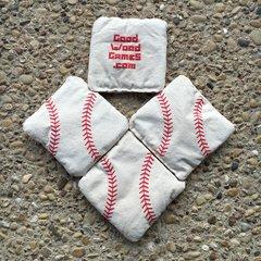 Yard Baseball Bags, White